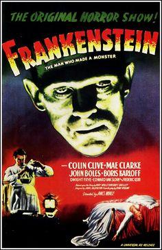 Frankestein movie poster