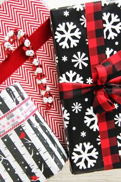 Creative Ideas for Wrapping Holiday Gifts!