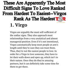 Boyyyyyy aint this the truthhhhh. Papi is a Virgo n Im a Libra-Scorpio cusp so I have both traits. BUT BITCH. Virgo And Sagittarius, Virgo Love, Virgo Sign, Virgo Horoscope, Virgo Zodiac, Horoscopes, Virgo And Cancer, Aquarius, Zodiac Sign Traits