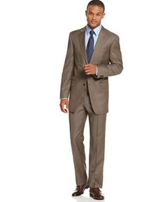 Taupe Tommy Suit