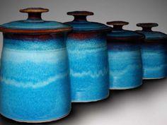 Dunnmorr Studio Pottery Canister Set