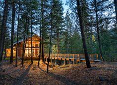 Weekend Cabin: Foster Loop, Mazama, Washington