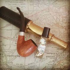 Captain Flint- Rugged Roll-On Fragrance. Ocean scent. Cigar shop, aged paper, oakmoss, sea salt