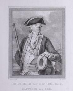 Portret van Kinsbergen.