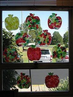 apple theme art
