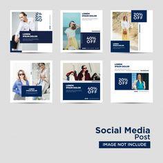 Social Media Post Template Vectors, Photos and PSD files Social Media Branding, Social Media Banner, Social Media Template, Social Media Content, Social Media Design, Social Media Graphics, Social Media Marketing, Web Banner Design, Instagram Post Template