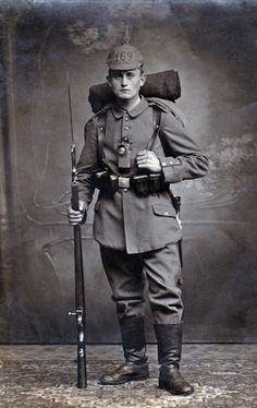Imperial German soldier, 169th Regiment, World War 1.