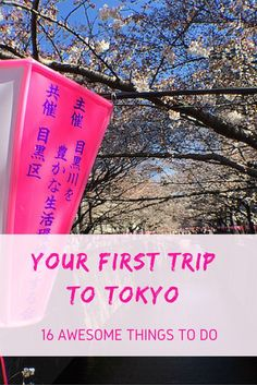 Your first trip to tokyo - 16 awesome things to do