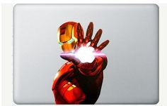 Ironman Decal for Macbook Pro