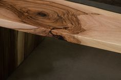 Custom live edge table made of walnut wood, river table with grey glass, live edge coffee table, waterfall table for architect office Live Edge Tisch, Live Edge Table, Coffee Table Dimensions, Wood River, Wooden Table Top, Resin Furniture, Resin Table, Grey Glass, Elements Of Design