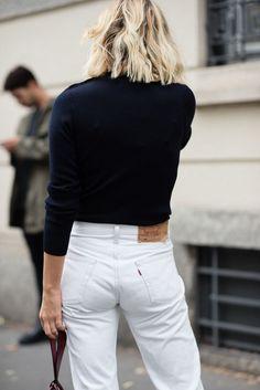 White denim. @thecoveteur