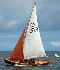 Ness Yawl designed by Iain Oughtred