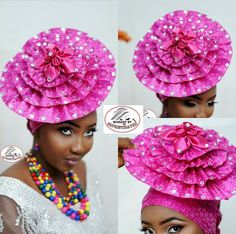 African Hats, African Wear, African Women, African Dress, African Fashion, Millinery Hats, Fascinator Hats, Fascinators, African Traditions