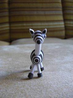Quilled Zebra...