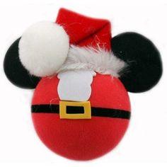 Disney Antenna Topper - Christmas -  Mickey Mouse - Santa