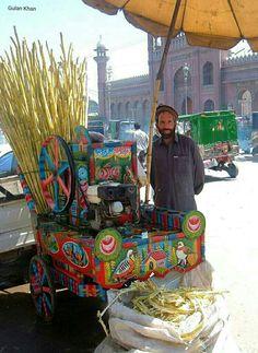 Sugur Cane saller Peshawar city Khyber Pakhtunkhwa Pakistan