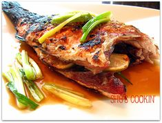 Heart Healthy Month: Grilled Whole Fish with Soy Ginger Sauce
