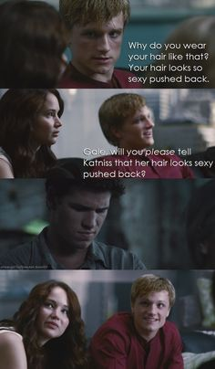 awww poor gale (but mean girls and hunger games never gets old)