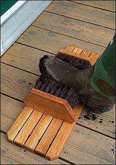 Redecker Boot Brush - Gardening