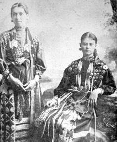 Two Potawattomie women, but no names, date, location or relationship