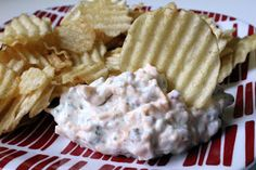 Crack Dip - Loaded with Ranch, Cheese and Bacon Bits!