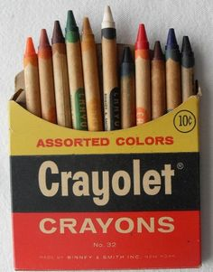 All sizes | CRAYOLET Crayons 1960
