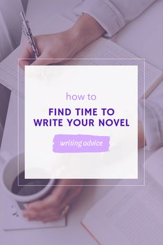 How to make the most of your time and get your nove finished. #writing #writer Writing Advice, Writer, Novels, Cards Against Humanity, How To Make, Writers, Authors, Fiction, Romance Novels