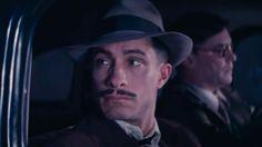 Gael Garcia Bernal in Neruda.   http://www.justaplatform.com/neruda-film-review/