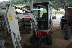 Karner & Dechow Industrie Auktionen - Mini-Raupenbagger Takeuchi TB016, Fabrikations-Nr.: 11620407, Baujahr: 2009, 10,1kW, Gesamtgewicht: 1.695 kg, mit Böschu - Postendetails
