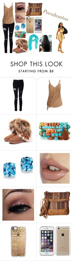 """""""Zodiac Signs as Disney Princesses: Gemini"""" by kiara-fleming ❤ liked on Polyvore featuring Miss Selfridge, Gestuz, NAKAMOL, Kevin Jewelers, American West, Casetify and Speck"""
