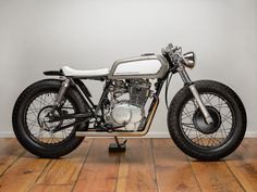Yamaha XS 400 Street Tracker from Spin City Cycle....