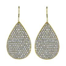 Irene Neuwirth Diamond Large Pear-Shaped Earrings