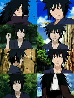 6 reminds me of Gray from Fairy Tail XD) Naruto Vs Sasuke, Anime Naruto, Anime Guys, Manga Anime, Wallpaper Memes, Naruto Wallpaper, Madara Wallpapers, Madara And Hashirama, Sasunaru