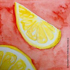 Lemon slice - Day 51/100 #the100dayproject #100daysfoodanddrink