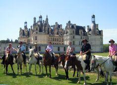Tour the castles of Europe on horseback.
