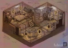 steampunk designe interior - Buscar con Google
