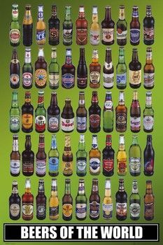 BEERS OF THE WORLD BOTTLES