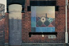 Living Gallery   Stoke-on-Trent  Installing art works in the doors and windows of empty houses.