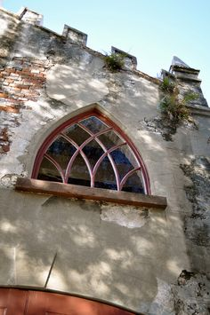 Gothic Window in Charleston, SC