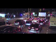 Un autocine en los semáforos para promover los cortometrajes: JamesonNotodofilmfest