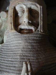 ca. 1390 - 'Bernhard I, Markgraf von Baden (+1431)', Klosterkirche, Bad Herrenalb, Baden-Württemberg, Germany
