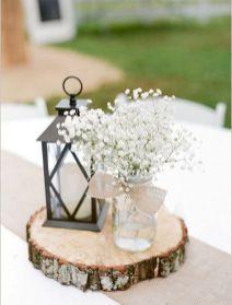 211 DIY Creative Rustic Chic Wedding Centerpieces Ideas