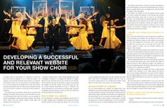 Developing a Successful and Relevant Website for Your Show Choir - Productions Magazine