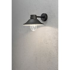 VÄGGLAMPA KONSTSMIDE VEGA DIMBAR LED SVART - Vägglampa utomhus - Utomhusbelysning - Belysning Led Treiber, External Lighting, Outdoor Walls, Bauhaus, Montage, Aluminium, Outdoor Lighting, Sconces, Wall Lights