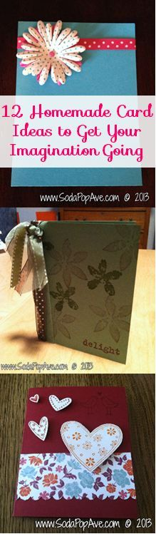 If you are looking for some great card making ideas, here are 12! www.SodaPopAve.com