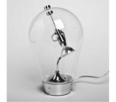 Lampa stołowa / biurkowa inspirowana projektem Blow dla Studio Italia 17 cm BLW-T1