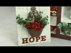 Santa Receita | Vaso enferrujado por Adriana Moura - 16 Dezembro de 2015