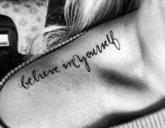 """""""Acredite em você mesmo"""" - sempre! - Reprodução"""