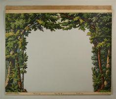 Wald. Coulissen Nr. 101 B. [2. Durchbruch]