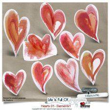 Hearts 01 - Elements 01 by Eirene Designs cudigitals.com cu commercial scrap scrapbook digital graphics#digitalscrapbooking #photoshop #digiscrap #scrapbooking